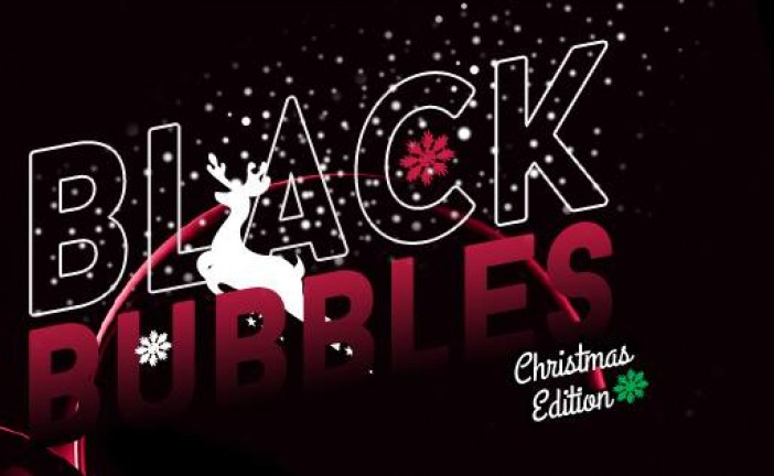 Black bubbles – Christmas edition