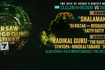 Dubstep and reggae underground festival