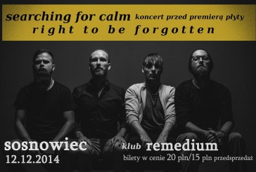 Searching for Calm  – concert