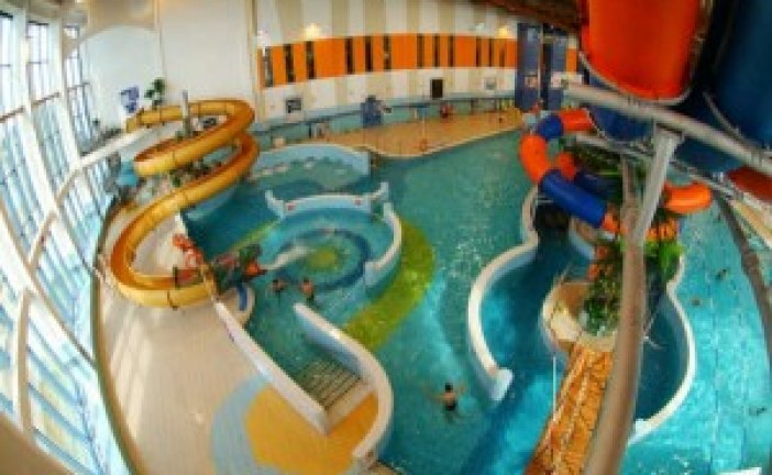 Relaxation at the aqua park