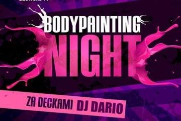 Bodypainting night @Krakow