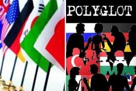 Polyglot cafe